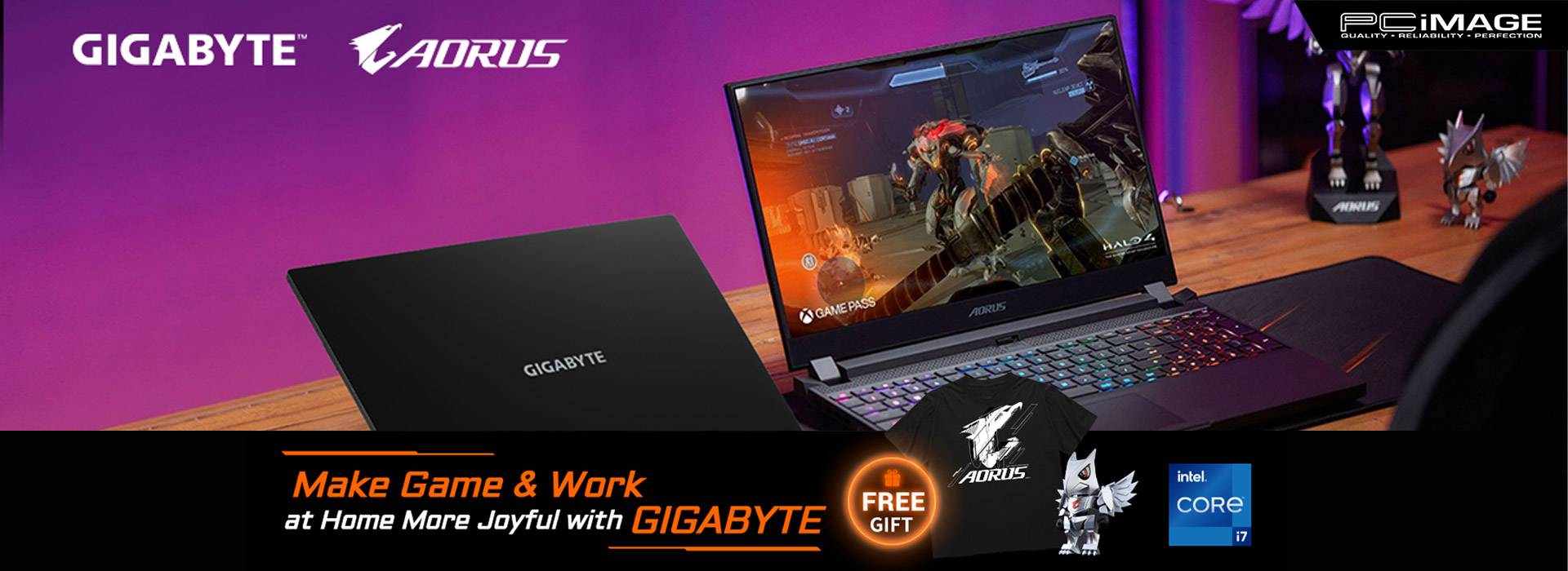 Make Game & Work at Home More Joyful with GIGABYTE