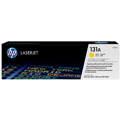 HP LASERJET 131A YELLOW TONER CARTRIDGE