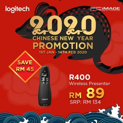 LOGITECH R400 Wireless Laser Presentation Remote