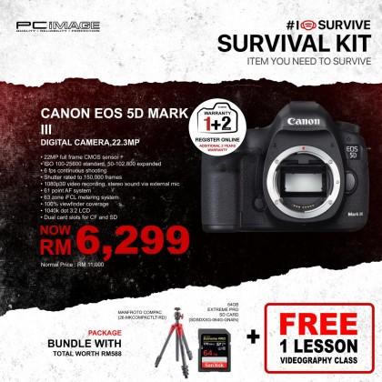 Canon EOS 5D Mark III Digital Camera (Body Only) (EOS 5D_MARK III)