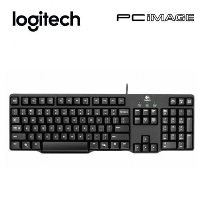 Logitech Classic Keyboard K100 PS2 - Black
