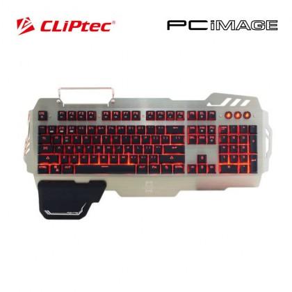CLiptec TITANOS USB LED Illuminated Plunger Switch Gaming Keyboard