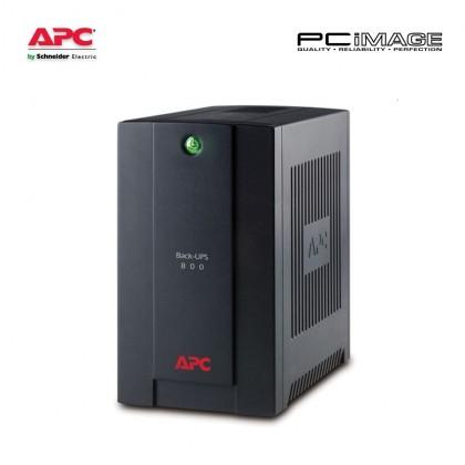 APC Back-UPS 800VA, 230V, AVR, Universal and IEC Sockets (BX800LI-MS)
