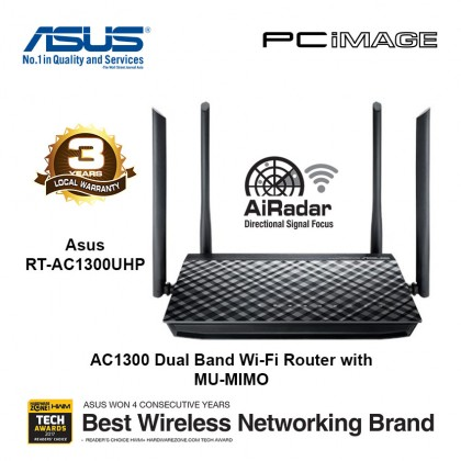 ASUS AC1200G Plus Wireless Dual Band Router
