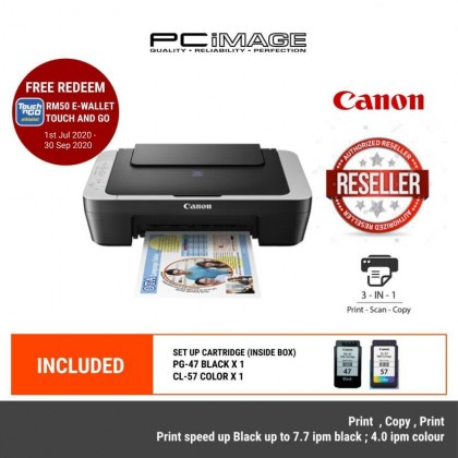 CANON Pixma E410 All in One Printer-Black