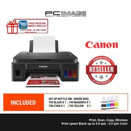 CANON Pixma G3010 All in One Wireless Printer