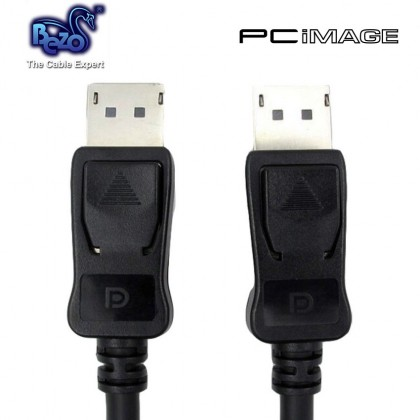BEZO DISPLAY PORT Male to Male V1.2 CABLE -1.8M