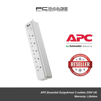 APC Essential SurgeArrest 5 outlets 230V UK PM5-UK
