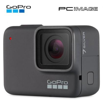 GoPRO Hero 7 10MP/4K30 Action Camera-Silver