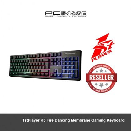 1ST PLAYER K5 Fire Dancing Membrane Gaming Keyboard