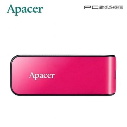 APACER AH334 32GB USB2.0 Flash Drive - Blue / Pink