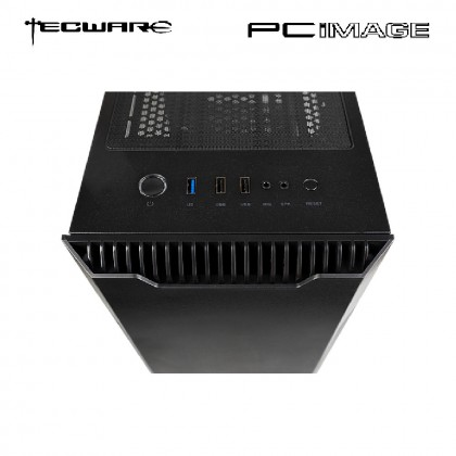 TECWARE NEXUS EVO ARGB TG BLACK ATX GAMING CASE