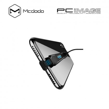 MCDODO MOBILE GAMING LIGHTNING CHARGING CABLE 1.2M-BLACK