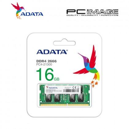 ADATA 16GB DDR4 2666MHZ PC4-21300 SODIMM (AD4S2666316G19R)
