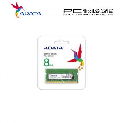 ADATA 8GB DDR4 2666MHZ PC4-21300 SODIMM (AD4S266638G19R)
