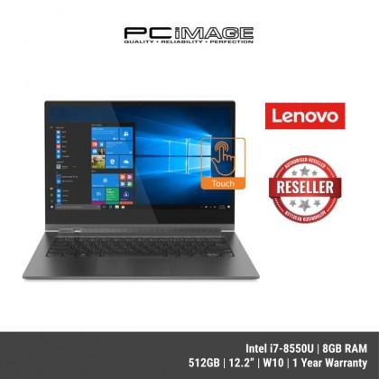 "[LAST UNIT] LENOVO MIIX 520 81CG01Y7MJ 12.2"" 2 in1 Touch Laptop- Iron Grey ( I7-8550U, 8GB, 512GB, WIN10, 1YR )"