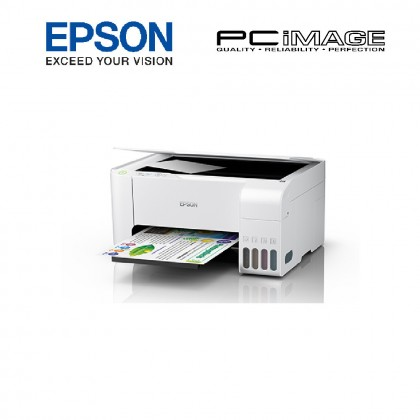 EPSON ECOTANK L3116 ALL-in-ONE INK TANK PRINTER - WHITE (PRINT,SCAN,COPY)