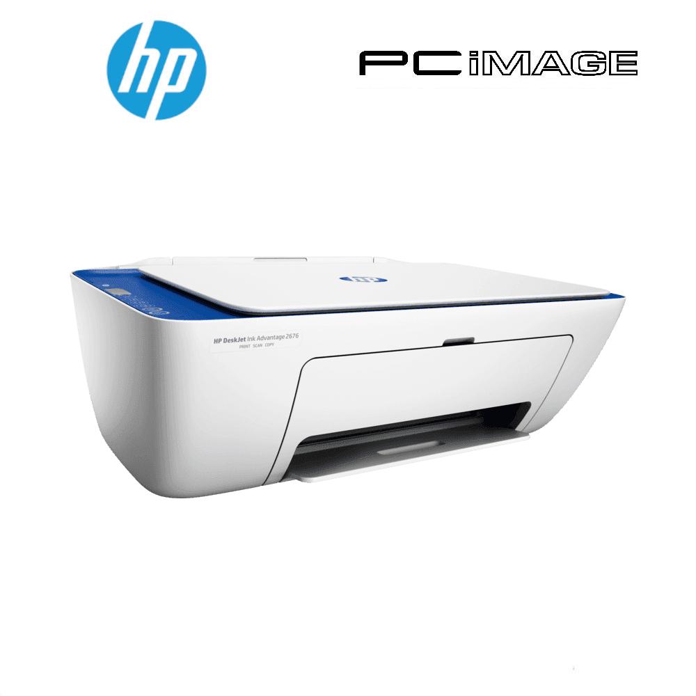 HP 2676 DESKJET INK ADVANTAGE ALL IN ONE PRINTER - PRINT ...