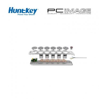 HUNTKEY POWER STRIP SZN607 2 USB 2.4A OUTPUT CABLE