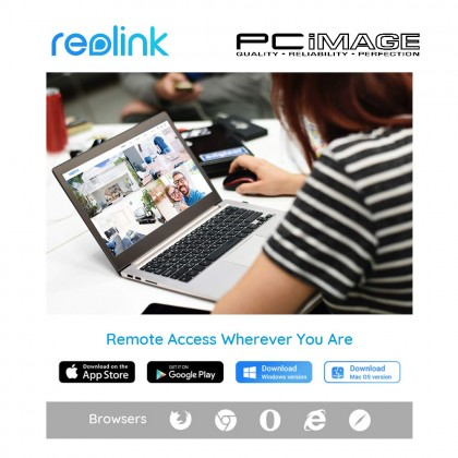 REOLINK RLC511 5MP POE BULLET SECURITY CAMERA