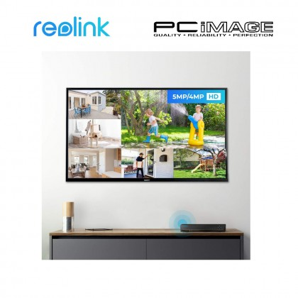 REOLINK RLK16-410B8-3T 4MP POE SECURITY NVR WITH 3TB HDD