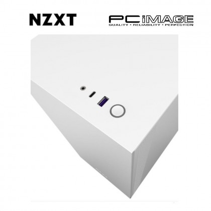 NZXT MID-TOWER H510 PC CASING WHITE NO INCLUDE POWER SUPPLY