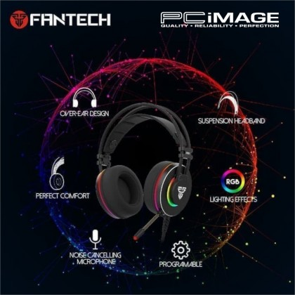 FANTECH HG23 VIRTUAL 7.1 SURROUND OCTANE GAMING HEADSET