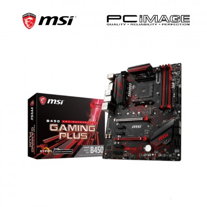 MSI ATX SOCKET AM4 B450 GAMING PLUS MOTHERBOARD