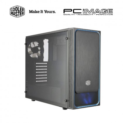 COOLER MASTER E500L MID-TOWER CASING - BLUE / RED