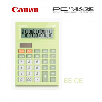CANON AS-120V CALCULATOR TURQUOISE BLUE / NATURAL PINK / NATURAL BEIGE