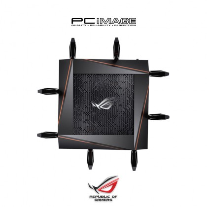 ASUS ROG Rupture GT-AX11000 Tri-band WiFi 6 (802.11ax) Gaming Router
