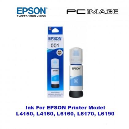 Epson 001 127ml & 70ml Printer Ink Original for L4150 L4160 L6160 L6170 L6190