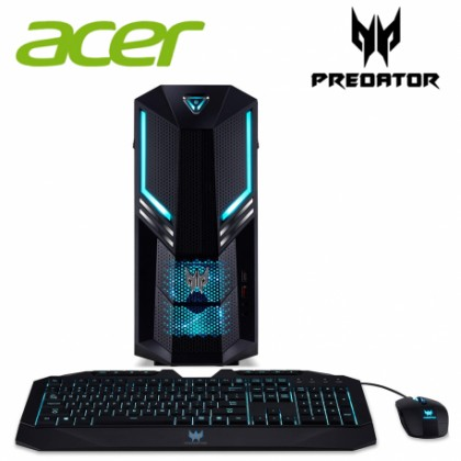 ACER PO3-600-9400 I5-9400F/8GB/256GB+1TB/RTX2060 6GBDDR6/PREDATOR KB&M/W10/3YRS ONSITE PC + FREE MCAFEE INTERNET SECURITY