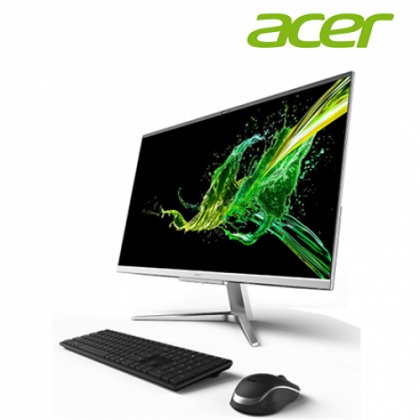 "ACER C22960-10110W10 21.5"" AIO Desktop- ( I3-10110U, 4GB, 1TB, ACER WIRELESS KB&M, W10, 3YRS ONSITE )"