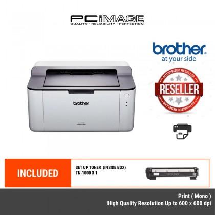BROTHER HL-1110 MONOCHROME LASER PRINTER - PRINT ONLY