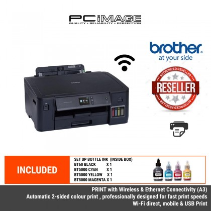 BROTHER HL-T4000DW A3 REFILL INK TANK PRINTER - PRINT,WIRELESS