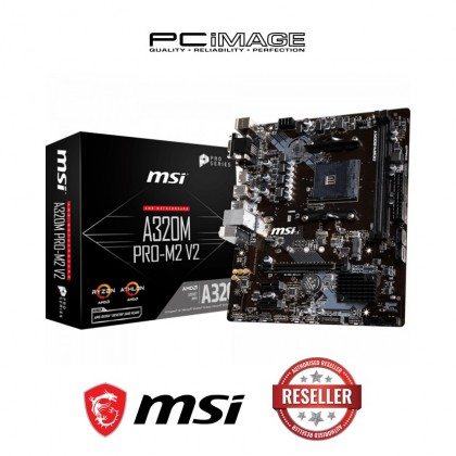 MSI A320M PRO M2 V2 SOCKET AM4 MOTHERBOARD