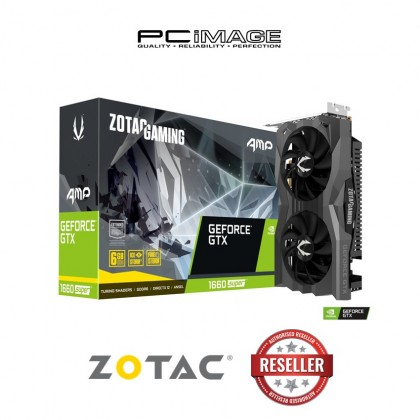 ZOTAC GAMING GEFORCE GTX1660 SUPER AMP 6GDDR6 GRAPHIC CARD