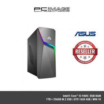 ASUS ROG Strix GL10C-SMY025T GAMING DESKTOP ( i5-9400F,8GB,1TB + 256GB,M.2 SSD,GTX1650,W10)