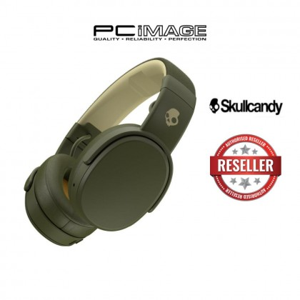 SKULLCANDY CRUSHER WIRELESS BLUETOOTH OVER EAR HEADSET WITH MIC