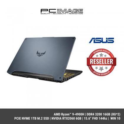 "[ COMING SOON ] ASUS TUF FA506I-VHN248T (AMD Ryzen™ 9-4900H,16GB 3200,PCIE 1TB,RTX2060,15.6"" 144hz,W10)"