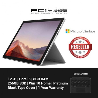 Microsoft Surface Pro 7 Core i5 / 8GB RAM / 256GB (Platinum)