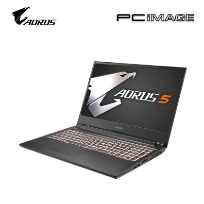 """GIGABYTE Aorus 5 SB-7MY1030SH 15.6"""" Gaming Laptop (i7-10750H, 8GB, 512GB, GTX1660Ti, Win10)"""