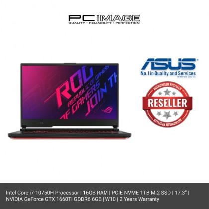 ASUS ROG STRIX G (G712L-UH7082T)/ i7-10750H/ 16GB RAM/ 1TB SSD/ GTX 1660TI/ Windows 10/ 2 Years Warranty