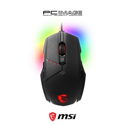 MSI Clutch GM60 RGB Mystic Light Gaming Mouse