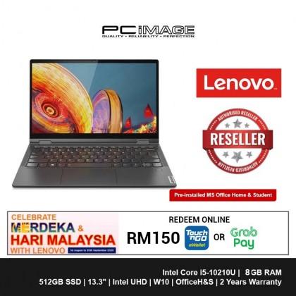 "LENOVO Yoga C640-13IML 81UE002XMJ 13.3"" Laptop-Iron Grey (i5-10210U, 8GB, 512GB, Win10, OfficeH&S)"