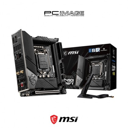 MSI Meg Z490I Unify LGA1200 Mini-ITX Gaming Motherboard