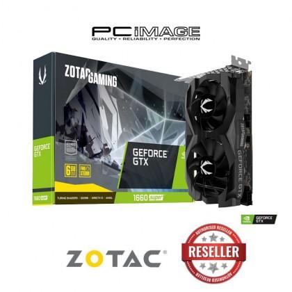 ZOTAC GAMING GEFORCE GTX 1660 SUPER TWIN FAN 6GB DDR6