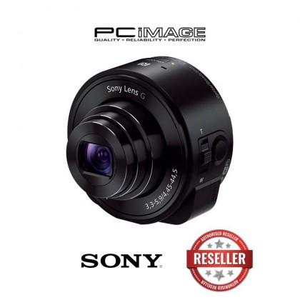 Sony DSC-QX10/BC Smartphone Attachable 4.45-44.5mm Lens-Style Camera (Black)