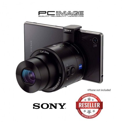 Sony Cyber-shot DSC-QX100 Smartphone Attachable 10.4-37.1mm Lens-style Camera (Black)